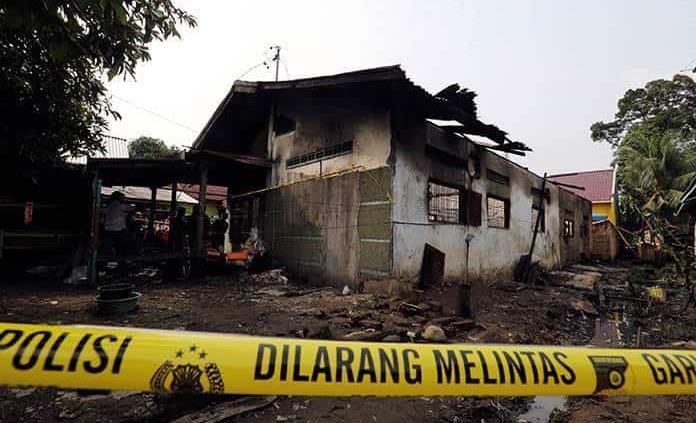 Incendio en fábrica de Indonesia; 30 muertos