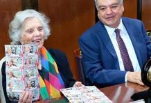 Elena Poniatowska, homenajeada por la Lotería Nacional