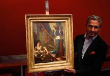 En venta pintura perdida de Delacroix