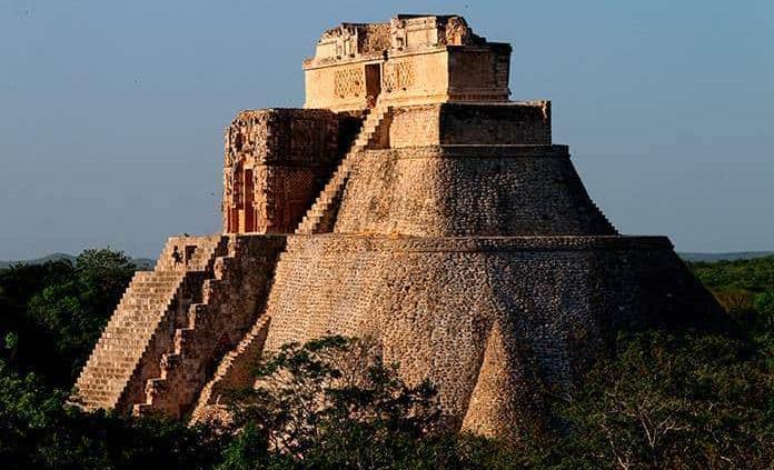 La filigrana de piedra del sitio maya de Uxmal