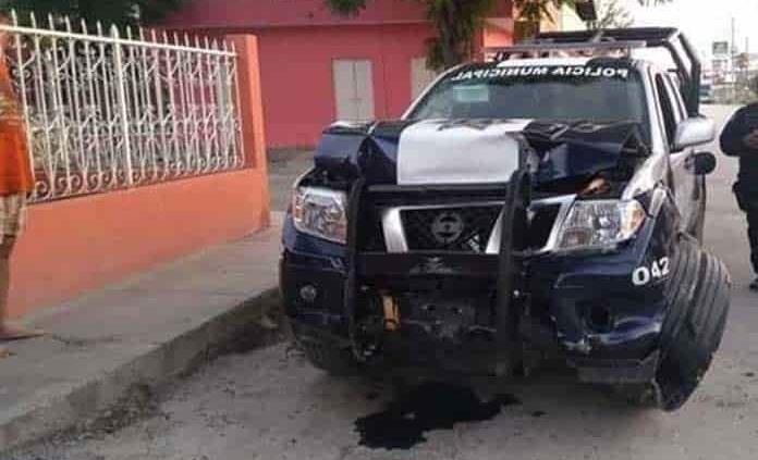 Analizan sanción para agentes que chocaron patrulla