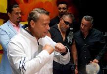 Carlos Trejo le sangra el rostro a Alfredo Adame