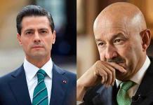 """Enredan a Salinas y Peña en """"lavado"""""""