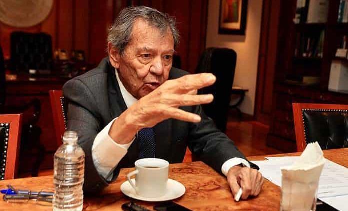 Morena está sin más rumbo que el timonel: Muñoz Ledo