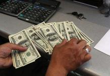 Dólar inicia semana en 20.23 pesos