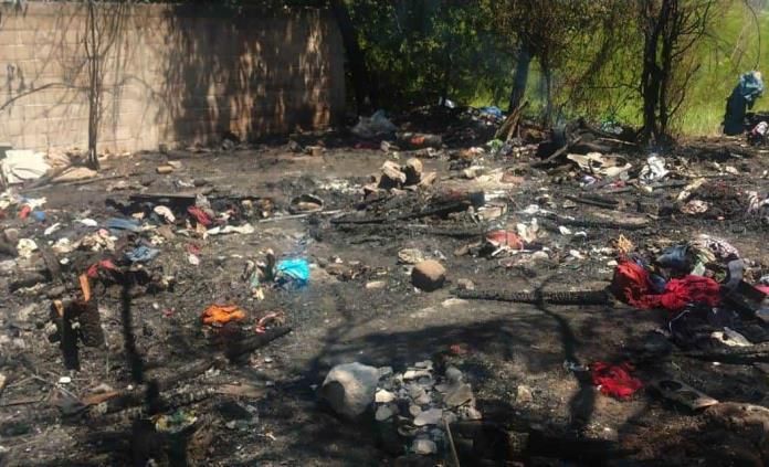 Incendio en Rioverde deja sin patrimonio a una familia