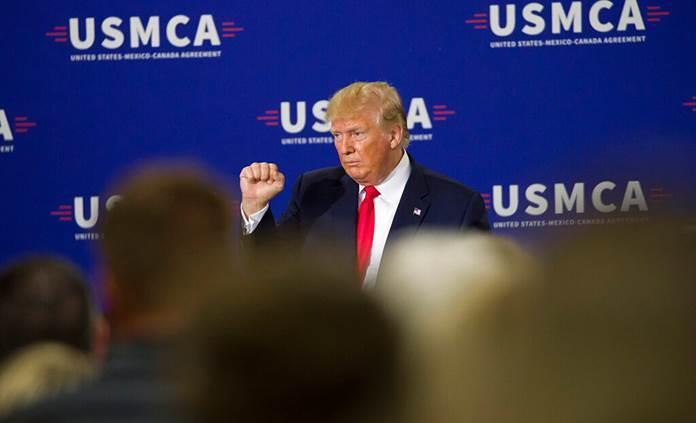 Trump urge a ratificar T-MEC antes de que se acerquen las elecciones en EEUU