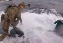 VIDEO: Guardia Costera de EU intercepta narcosubmarino con más de 200 mdd en drogas