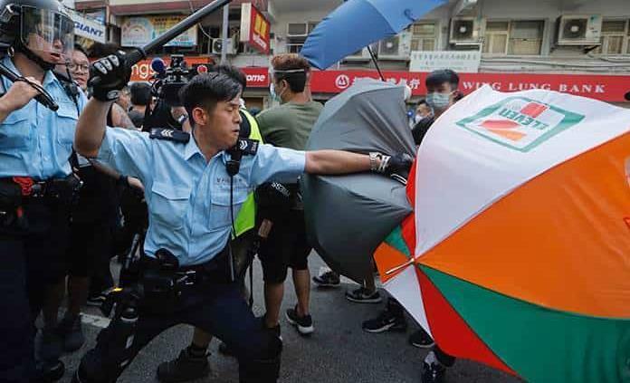 Verano agitado en Hong Kong