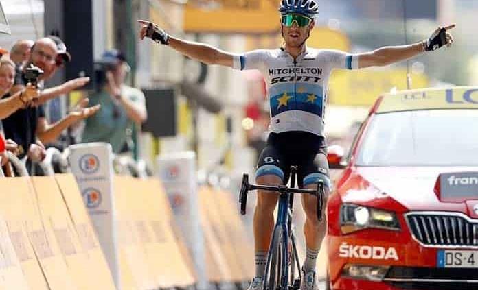 Matteo Trentin se quedó con la etapa 17 del Tour de Francia