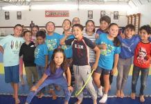 Camping de verano en el Lomas Racquet Club