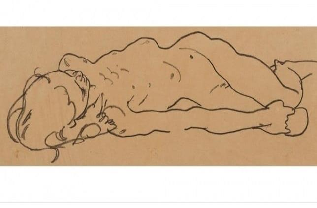 Descubren dibujo de Schiele en tienda de segunda mano en NY
