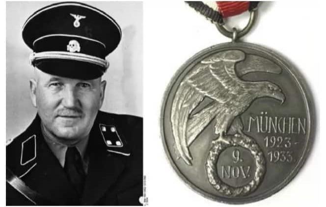 Subastan medalla de hombre que recibió balazos para salvar a Hitler
