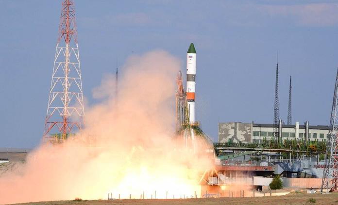 Nave de carga rusa llega a la Estación Espacial Internacional