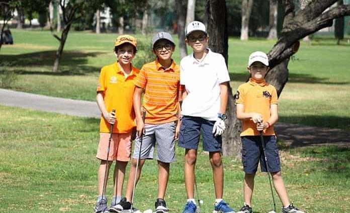 Nuevas promesas del golf