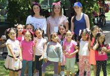 Festejan a los niños en el camping del Club Deportivo Potosino