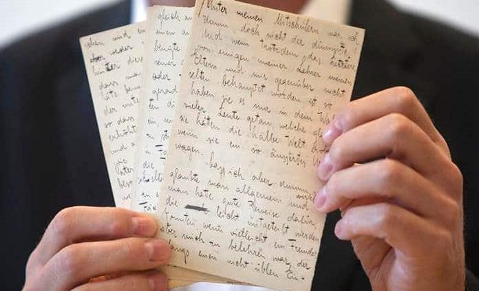 Los manuscritos de Kafka ocultos en Suiza salen a la luz en Israel