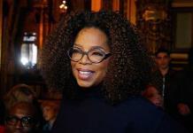 Oprah Winfrey alaba a su amiga