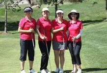 Expertas jugadoras en el golf