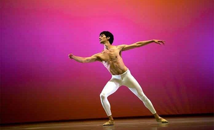 Braulio Álvarez, bailarín solista en Tokio