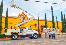 Compra Ciudad Fernández camión para Alumbrado