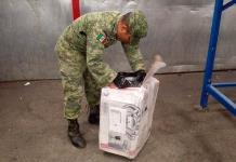 Ejército Mexicano incauta 13 kilos de mariguana