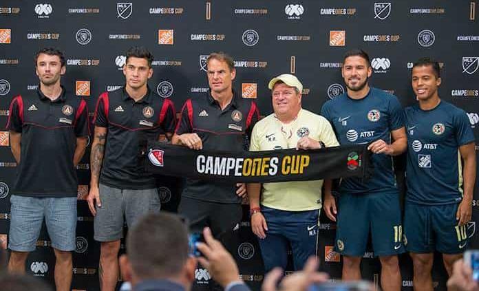 América va por la Campeones Cup ante Atlanta United