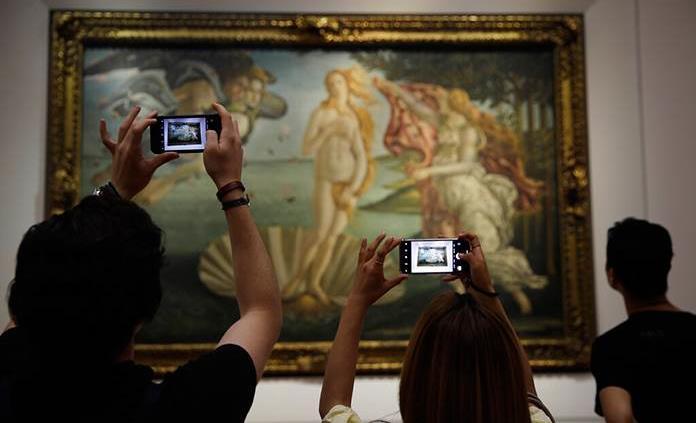 Los Uffizi piden a un portal porno retirar una campaña con la Venus