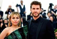 """Liam Hemsworth le desea a Cyrus """"salud y felicidad"""""""