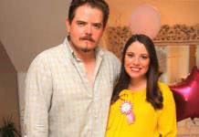 Jacinto Lárraga Escobedo y Cecilia Guevara de Lárraga esperan llegada de su bebita