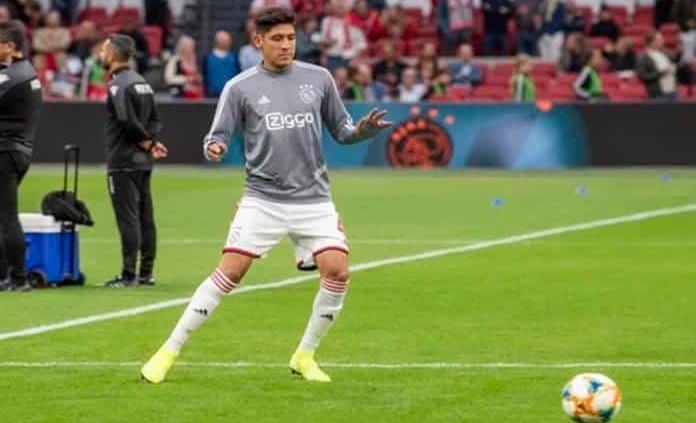 Edson Álvarez provoca un penal en contra en su primer partido