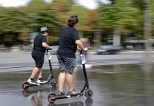 Europa busca regular las patinetas eléctricas