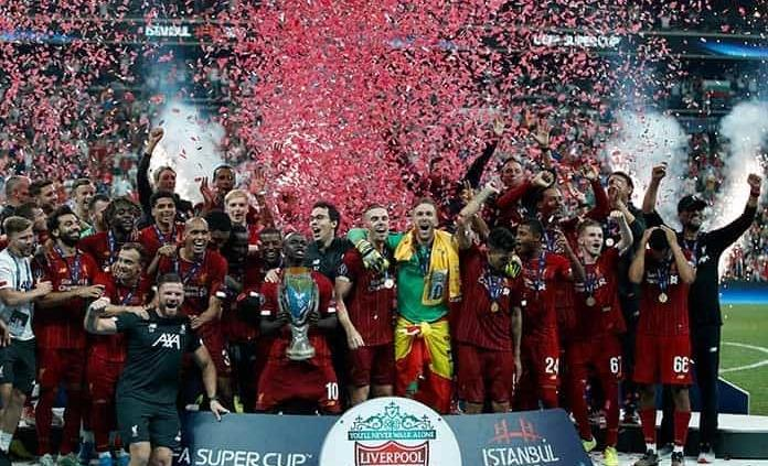 Liverpool conquista Supercopa de Europa