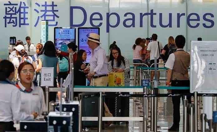 Reanuda vuelos terminal de HK
