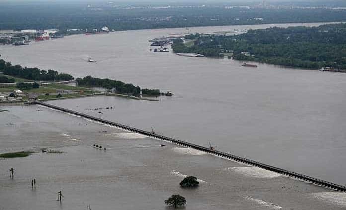 Río Mississippi, una amenaza real