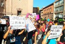 Potosinas se unen a la defensa de las mujeres violentadas