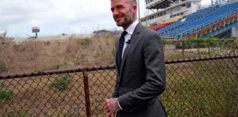 Hallan arsénico donde Beckham quiere construir un estadio en Miami