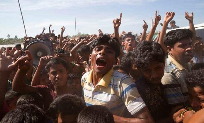 ONU condena violencia sexual contra musulmanes rohinya
