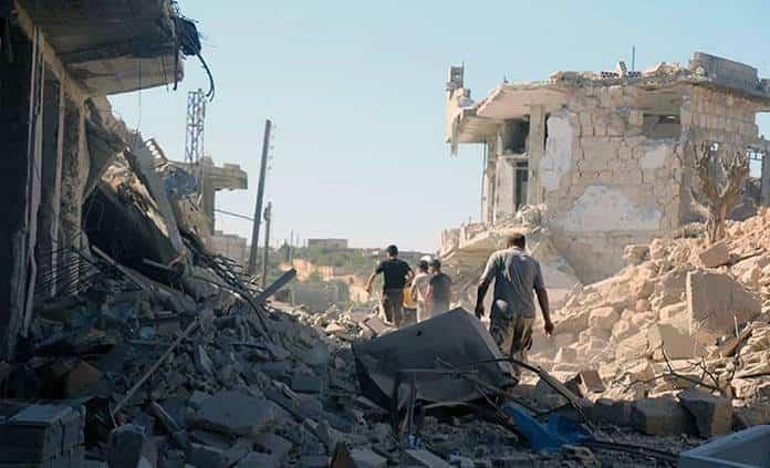 Mundo: Mueren unas 60 personas en combates en Idlib, Siria