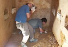 Hallan mausoleo romano de 2 mil años de antigüedad bajo vivienda
