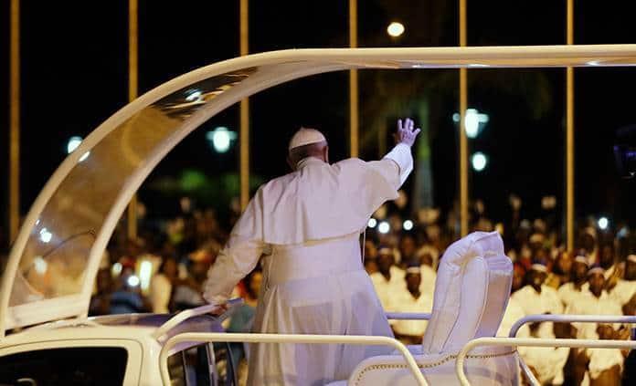 El papa Francisco aseguró que el clero se está