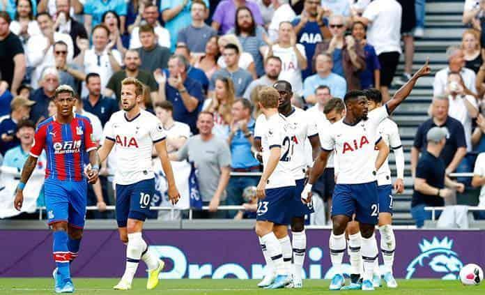 El Tottenham golea al Crystal Palace