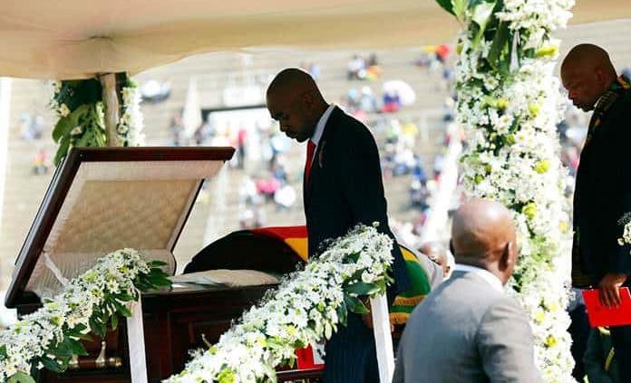 Zimbabue celebra funeral de Estado para expresidente Mugabe
