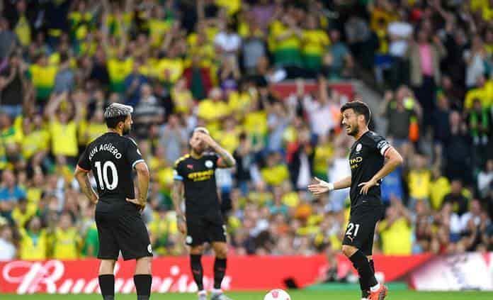 El Manchester City cae 3-2 ante Norwich