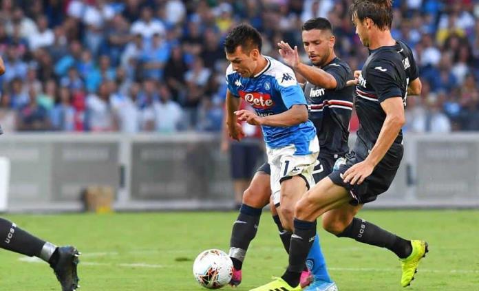 """Napoli vence a Sampdoria en presentación de """"Chucky"""" en San Paolo"""