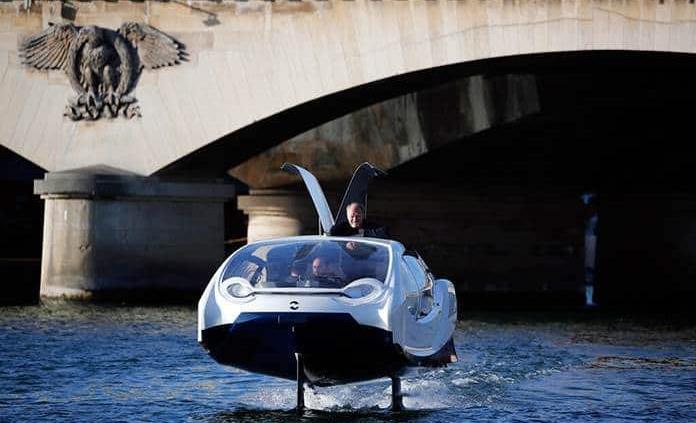 París prueba taxi cero ruido, cero olas y cero emisiones