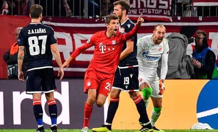 Estrella Roja, con Mateo García, perdió con Bayern Munich — Champions