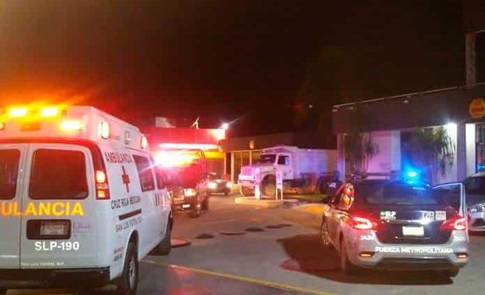 Violento asalto a gasolinera de la rúa a Rioverde