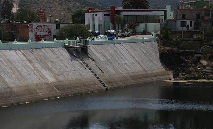 Se agota el agua en presa de Mexquitic