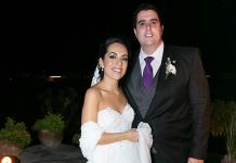 Alejandra Zepeda Rojas y José Carlos Mahbub Martínez, sobrios esponsales